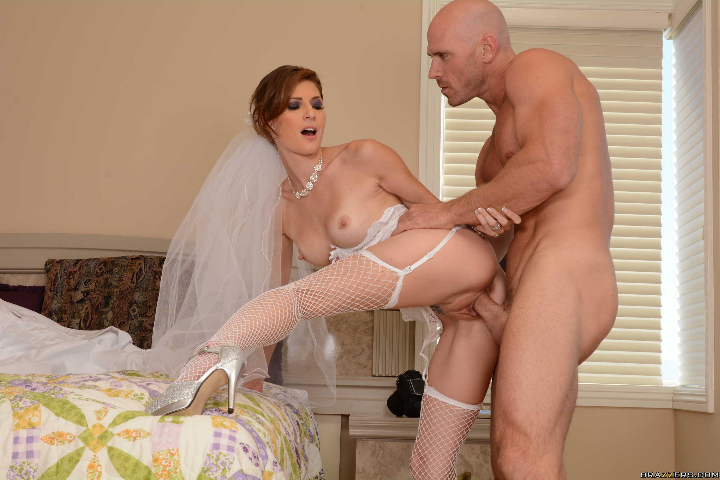 Смотреть как трахают невесту