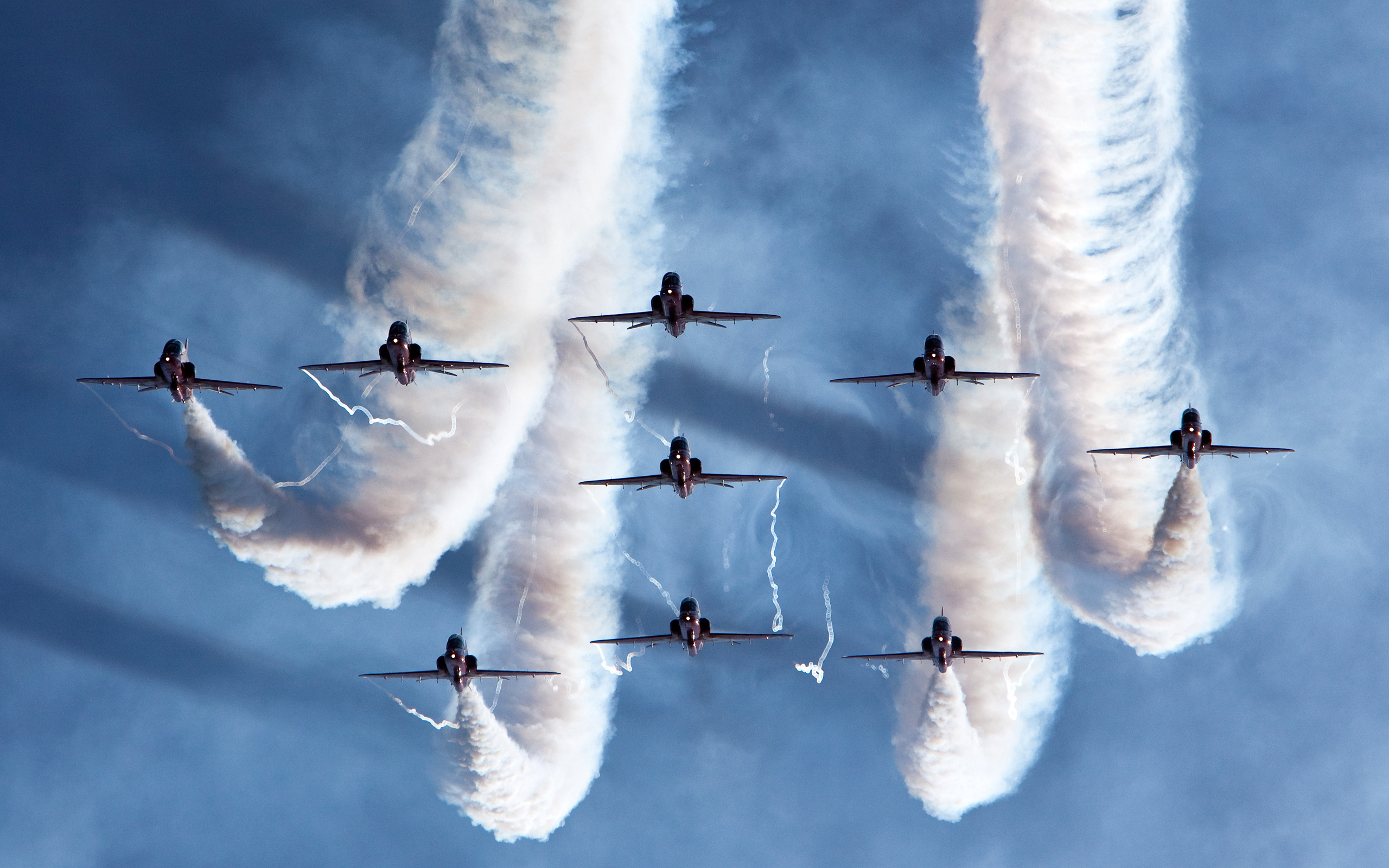 royal air force aerobatic team wide