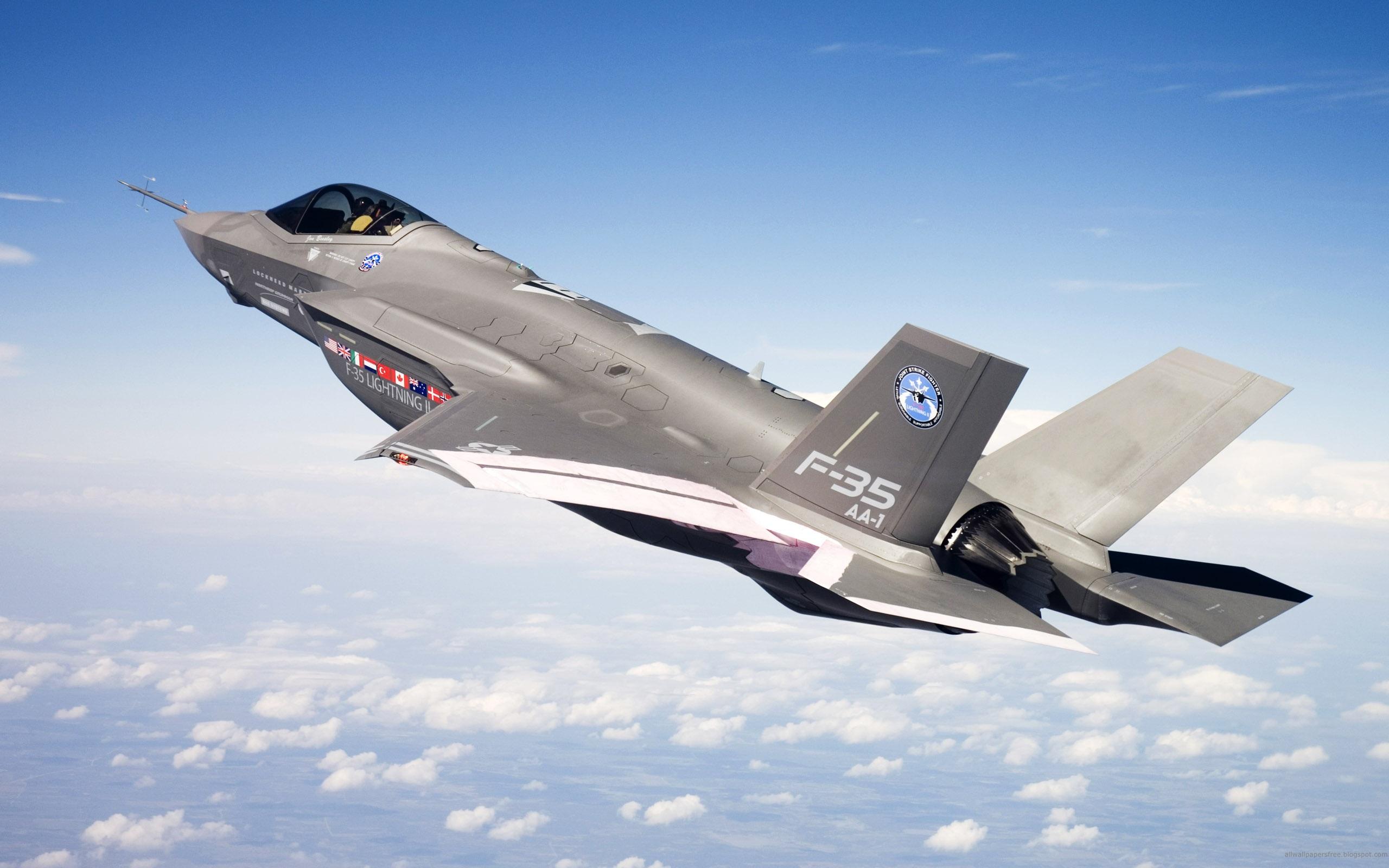 f 35 lighting ii joint strike fighter wide