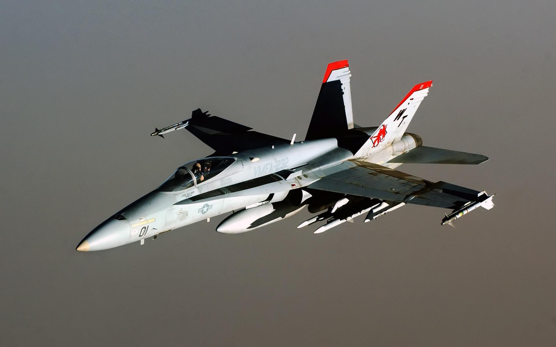 fa 18 hornet aircraft wide