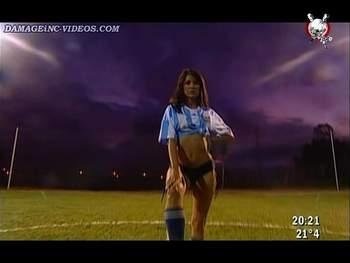 Hot Argentina soccer model