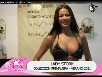 Argentina model Karina Jelinek big tits