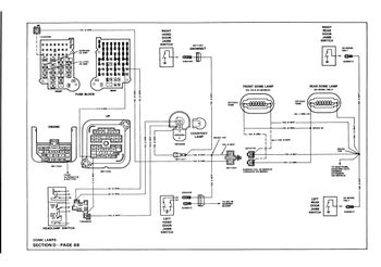 mystery dome light circuit plug gm square body 1973 1987 gm 1988 r v 3500 dome and cargo lighting wiring diagrams