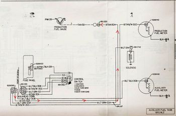 22088823_77_DualTankWiring_Copy 1980 k30 fuel tank wiring the 1947 present chevrolet & gmc Chevy Fuel Tank Selector Valve Wiring Diagram at alyssarenee.co