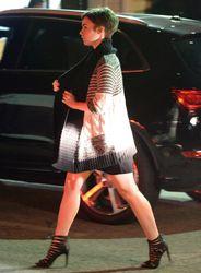 Lily Collins - @Italian Restaurant  LA 21.03.2015 -x10
