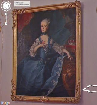 Visite virtuelle du Château de Schönbrunn avec Google art project 24232179_Schonbrunn_maria_karoline_salle_des_gardes